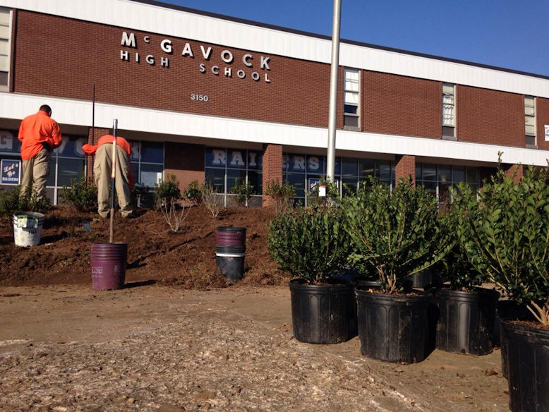 McGavock High School Landscaping