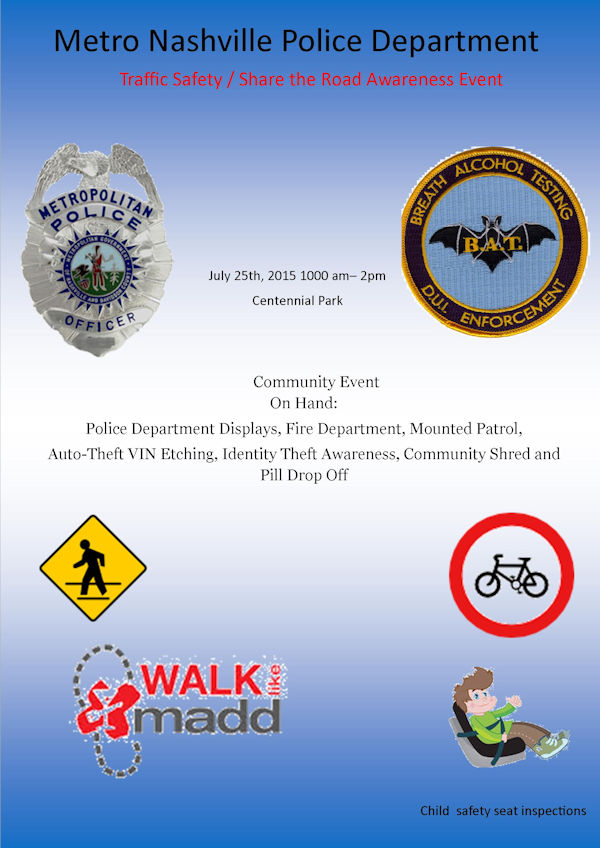 Traffic Safety Event - Metro Police Department