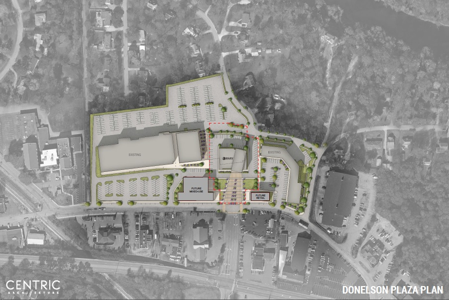 Donelson Plaza Site Plan
