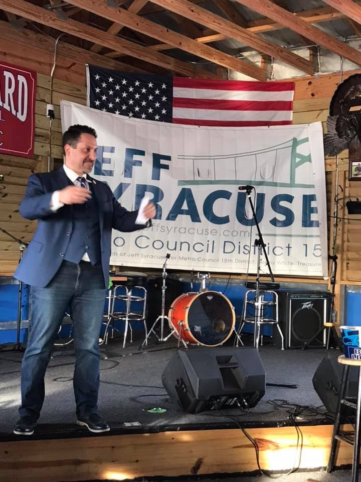 Jeff Syracuse Re Election Campaign