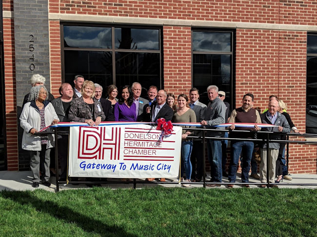 Masonry Specality Contractors Ribbon Cutting Ceremony
