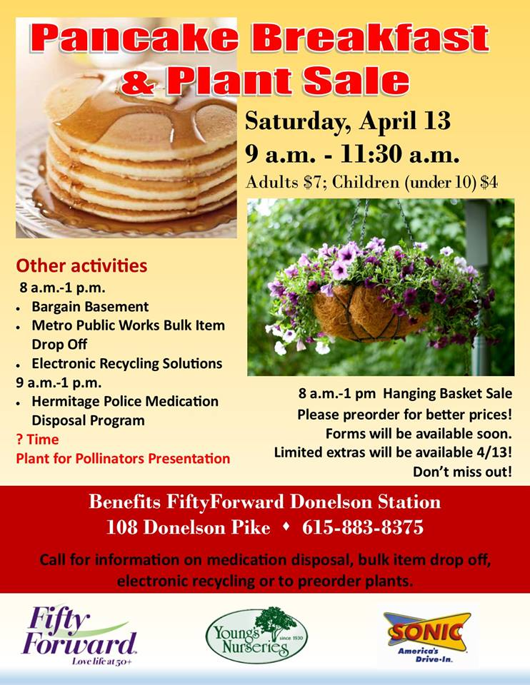 Fifty Forward Pancake Breakfast