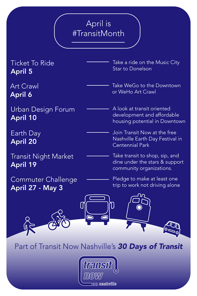 Transit Month in Nashville