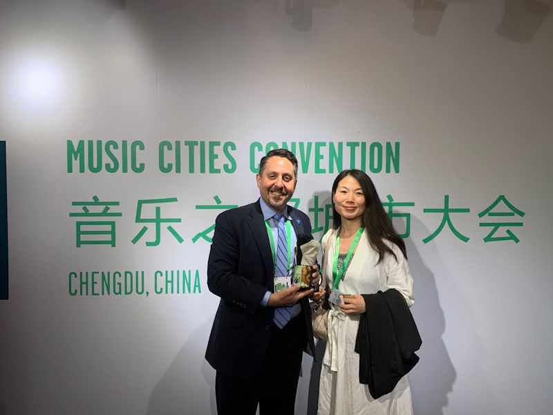 Chengdu Sister City with Nashville