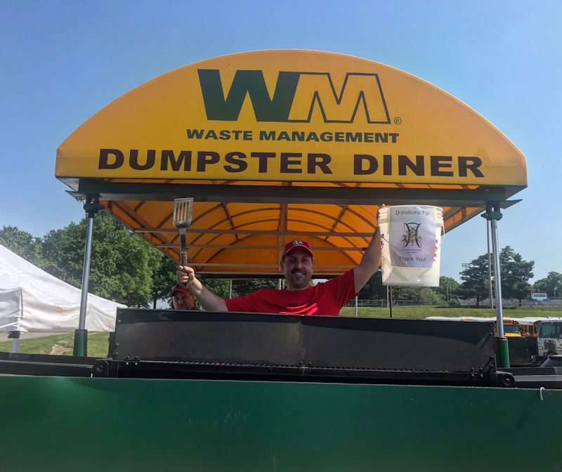Dumpster Diner with Councilman Jeff Syracuse