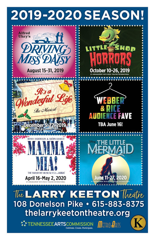 The Larry Keeton Theatre 2019-2020 Season