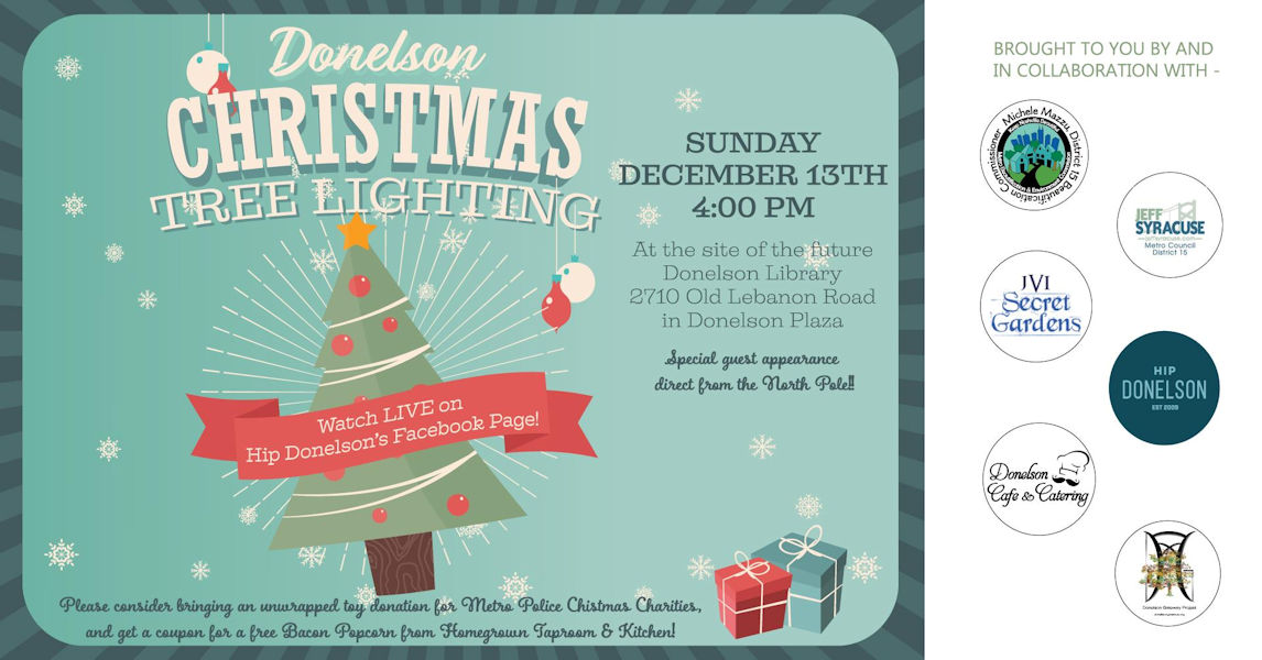 Donelson Christmas Tree Lighting in 2020