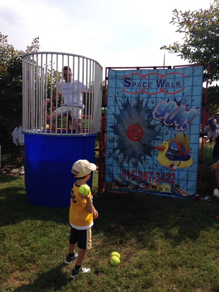 Stanford Montessori Fall Festival - Dunking Jeff Syracuse, Metro Council District 15