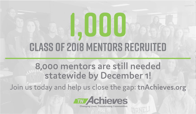 TN Achieves Is Always Looking For Mentors