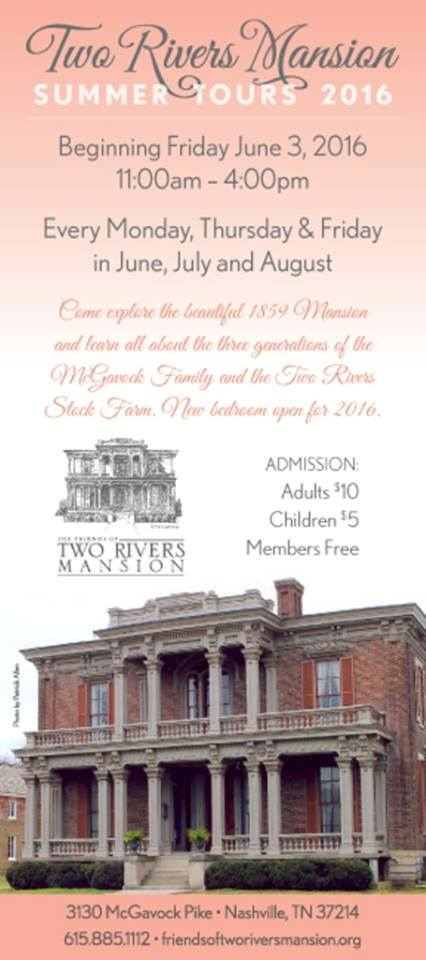 Two Rivers Mansion Summer Tours