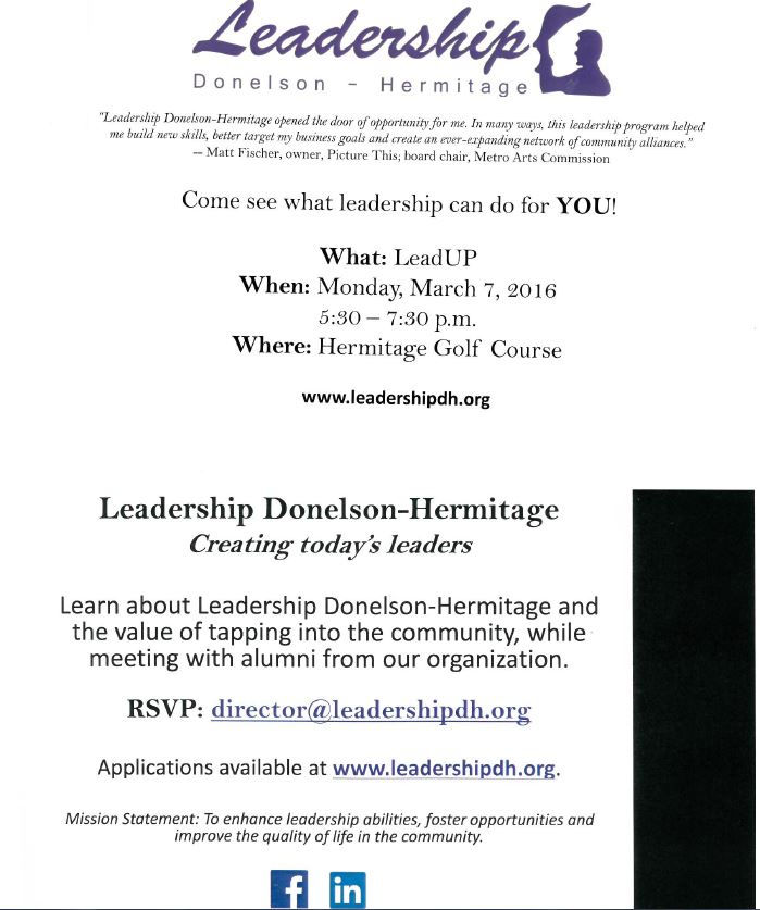 Leadership Donelson Hermitage