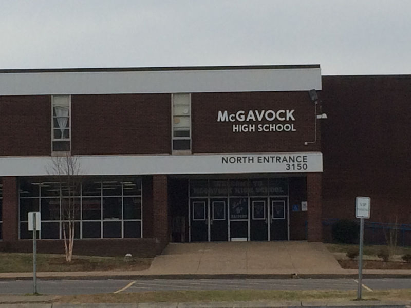 McGavock High School New Lettering