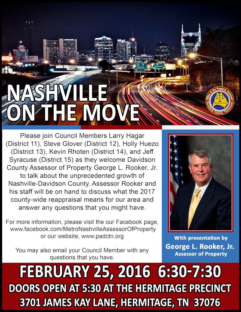 Property Assessor - Nashville On The Move