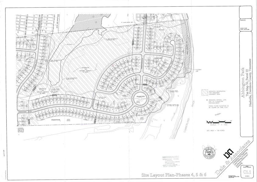 Abbington Park Concept Plan Site Layout