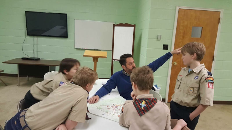 Scout Troop 700 at Donelson Heights United Methodist