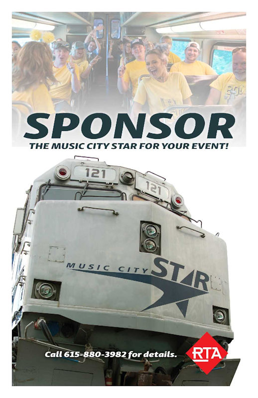 Music City Star Event Sponsorship
