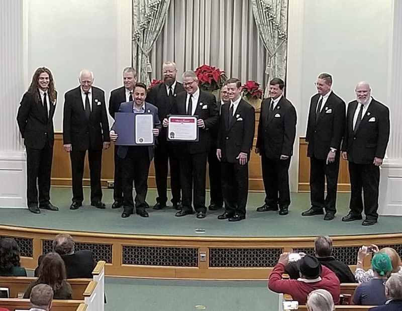 Proclamation of the Nashville Singers