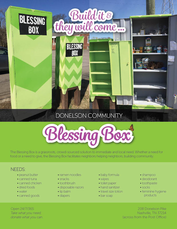 Donelson Community Blessing Box