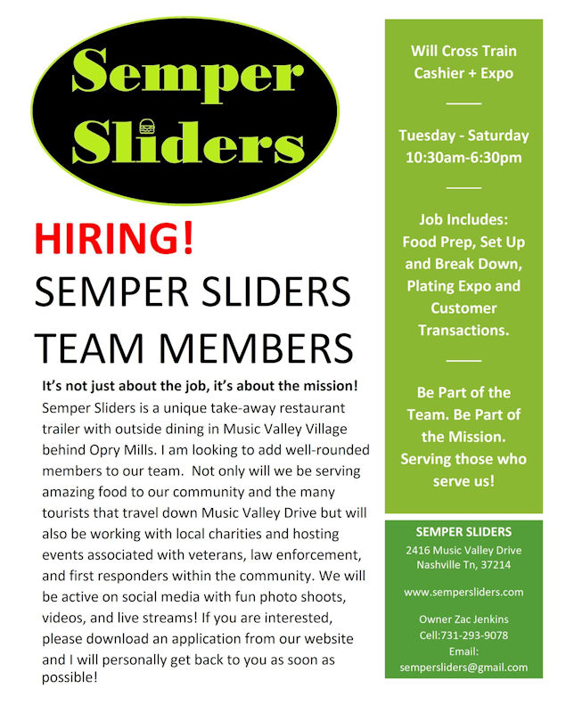 Semper Sliders in Music Valley Village