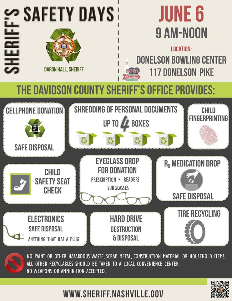 Sheriffs Safety Days - June 6, 2015