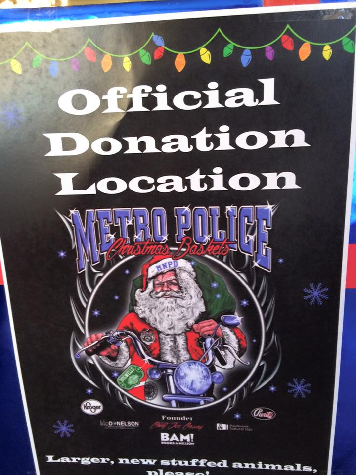 Hip D Metro Police Christmas Charities - Jeff Syracuse Metro Council District 15th