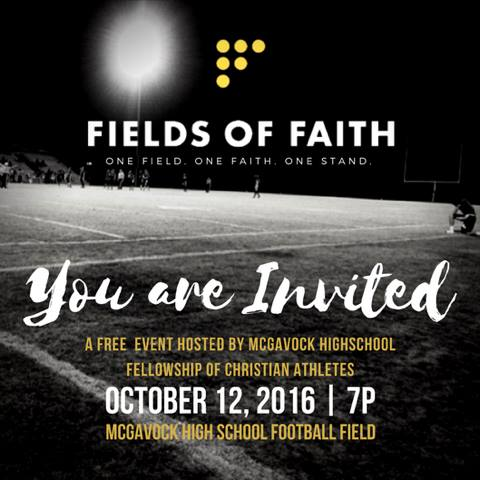 Fields of Faith - You Are Invited