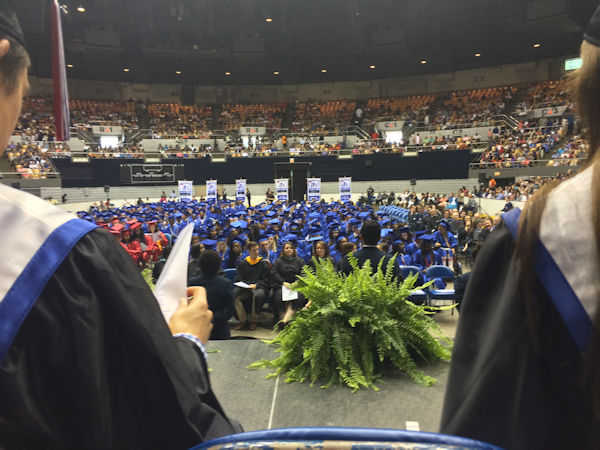 McGavock High School Graduation in 2015