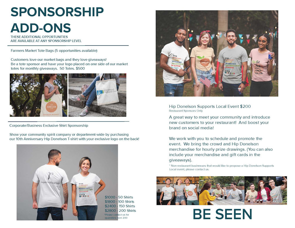 2019 Hip Donelson Sponsorship Deck - Page 7