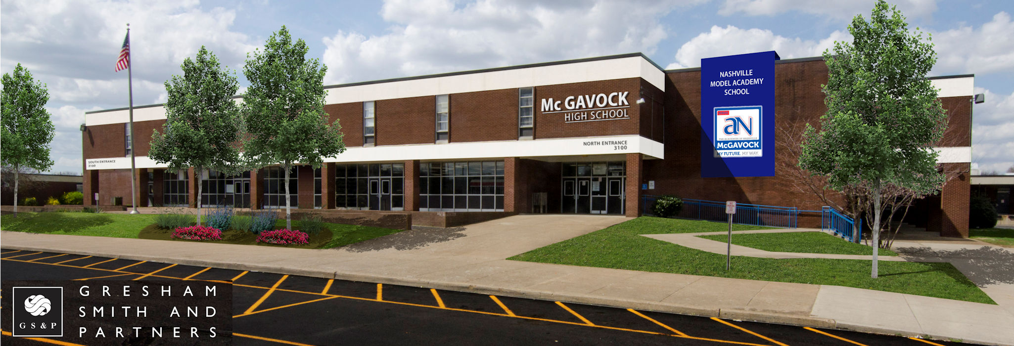 McGavock High School with Jeff Syracuse Metro Council District 15